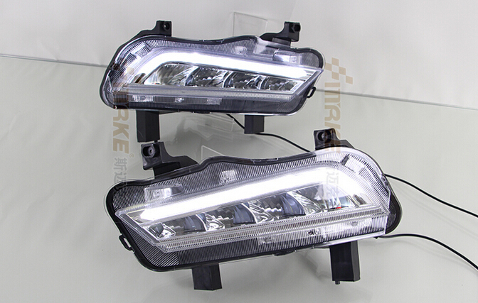 new arrival led drl daytime running light for 2015 chevrolet chevy cruze with led fog lamp and dimmer function