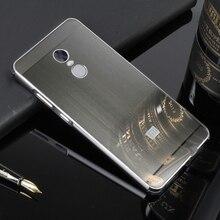32 ГБ анти стук бампер для Xiaomi Redmi Note 4X случае Роскошные металлической щеткой Жесткий Чехол для Xiaomi Redmi Note 4X Coque