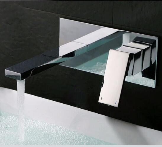 Free Shipping Square Basin Faucet Hot and Cold Bathroom Faucet Luxury Sink Faucet In-wall Black Water Faucet tap High QaulityFree Shipping Square Basin Faucet Hot and Cold Bathroom Faucet Luxury Sink Faucet In-wall Black Water Faucet tap High Qaulity