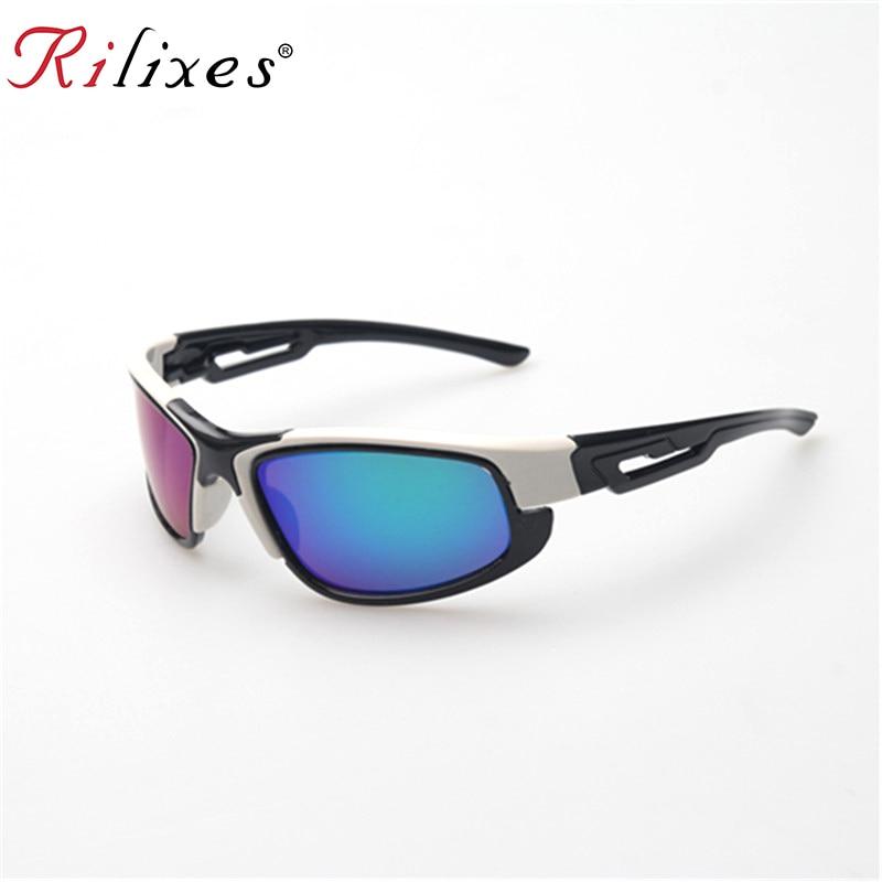 2021 RILIXES  NEW Super Cool Black Frame UV400 Protection Children Sun Glasses Kids Sunglasses Brand Designer Goggles
