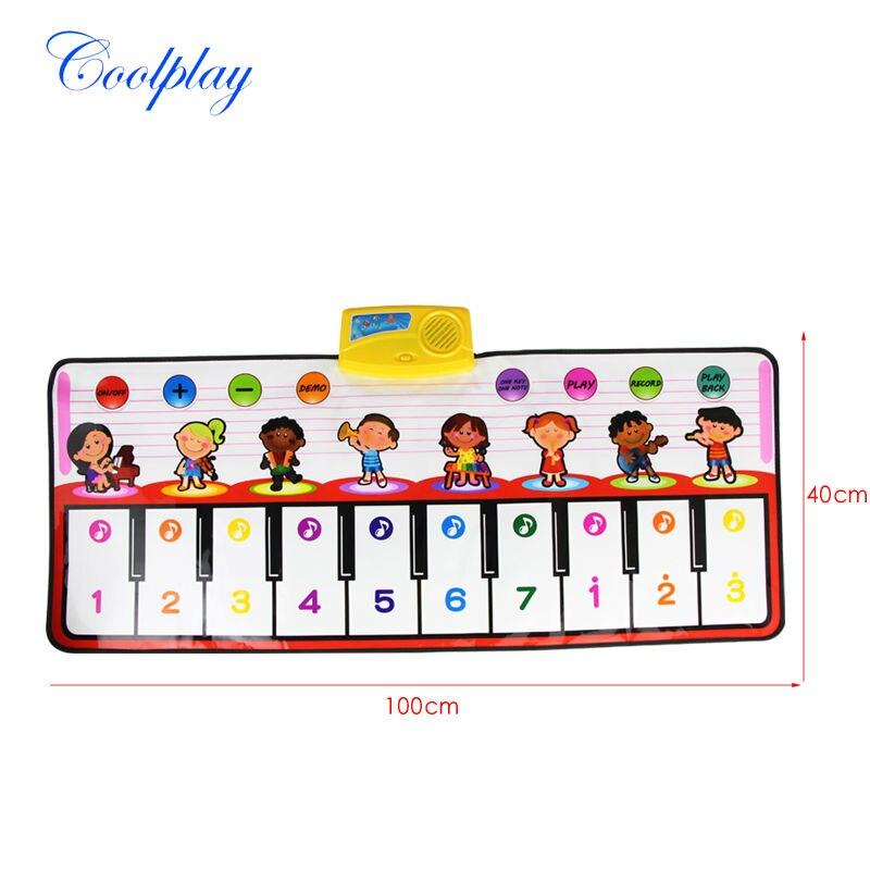 1 PZ Big Red Gioco Musica per Pianoforte Tappeti Per Bambini Musica di  Tocco tappeto Stuoia Multifunzionale Gioco Stuoia Strisciante Cantante  Giocattoli ... 7bf7bfafa2a5