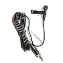 ميكروفون من MICWL لطية صدر السترة من Lavalier لأجهزة Sennheiser EW 100 300 500 G1 G2 G3 لاسلكي MKE2 بتصميم مزود بمشبك وغطاء