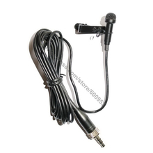 MICWL fermacravatta Lavalier bavero microfono per Sennheiser EW 100 300 500 G1 G2 G3 Wireless MKE2 Design con Clip e cappuccio