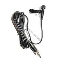 MICWL pince à cravate Lavalier micro micro micro pour Sennheiser EW 100 300 500 G1 G2 G3 sans fil MKE2 Design avec pince et capuchon