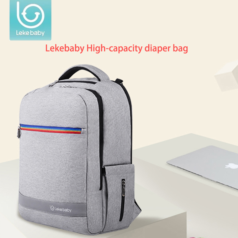 Lekebaby baby maternity nappy bag pushchair Stroller Diaper backpack Travel Bag fashion mother Organizer for Baby