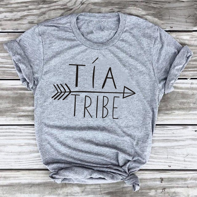 b19024472 Detail Feedback Questions about New arrival Hipster Ladies Aunties Funny  Short Sleeve Tia Tribe Printed Aunt Shirt Tops Gift T Shirts fashion slogan  tumblr ...