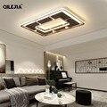 Moderne Decke Lichter Led Für Wohnzimmer Schlafzimmer Weiß und Kaffee Farbe Startseite Led deckenleuchte Leuchten AC 110V AC260V.-in Deckenleuchten aus Licht & Beleuchtung bei