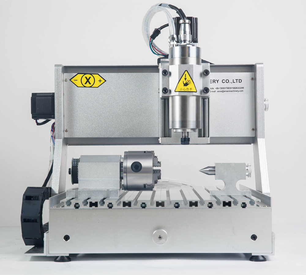 Mini cnc mesin penggilingan kayu membuat mesin drilling milling