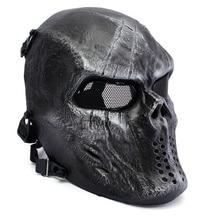 Военная армия M06 Пейнтбол тактический череп призрак защитный крутой полный уход за лицом Страйкбол Маска Охота Wargame Хэллоуин вечерние Косплей