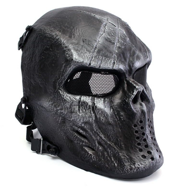 Military Army M06 Paintball Tactical Skull Ghost Protective Cool Full Face Airsoft Mask Hunting Wargame Halloween Party Cosplay