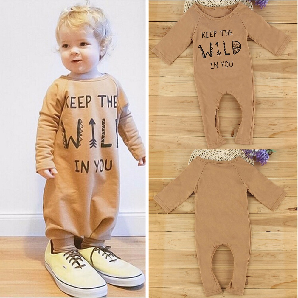 New 2017 Fashion Baby Rompers Baby Boy Clothes Long Sleeve Newborn Cotton Baby Girl Clothing Infant Jumpsuit 0-36M 2016 new newborn infant baby boy girl rompers toddler clothing romper jumpsuit black big eye cotton long sleeve clothes outfits