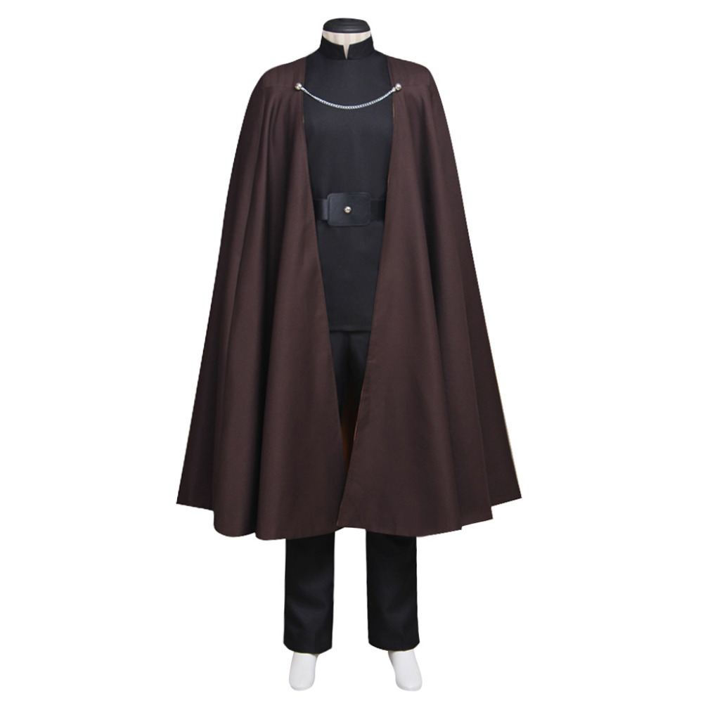 Star Wars Episode II Attack of the Clones Cosplay Count Dooku Costume For Halloween Carnival Outfit Clothing Custom Made image