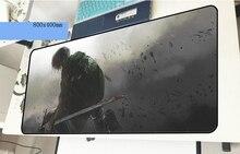Атака на Титанов геймерский коврик для мыши большой 800x400x2 мм игровой коврик для мыши подарок на Хэллоуин ноутбук аксессуары для ПК padmouse эргономичный коврик
