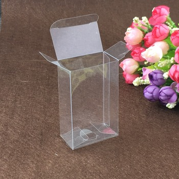 50pcs 5*8*13cm clear plastic pvc box packing boxes for gifts/chocolate/candy/cosmetic/crafts square transparent pvc Box