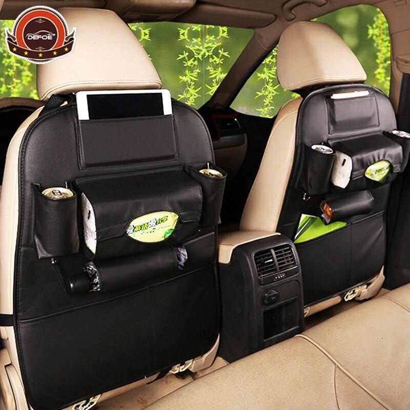 2018 neue autositz aufbewahrungsbeutel hängetaschen autositz zurück tasche Auto produkt Multifunktions fahrzeug aufbewahrungsbox auto styling freeship