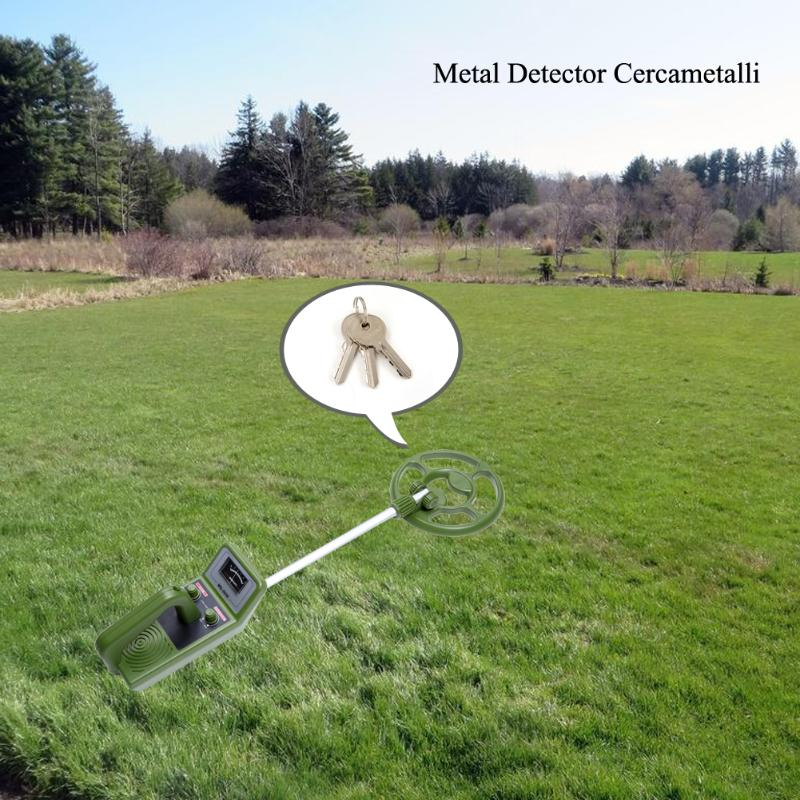 MD-3030 détecteur de métaux souterrain réglable explorer et détecteur d'or Instrument de détection vert pour l'archéologie d'exploration de pièces
