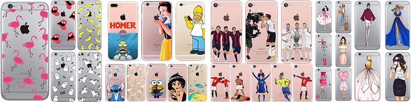 HTB1a2WjSXXXXXc8XVXXq6xXFXXXK - Funny Homer Case for iphone 6 6s 5 5s SE 7 plus Soft TPU Silicone Transparent Cover Funny Cheap Fundas Ultra-thin PTC 225