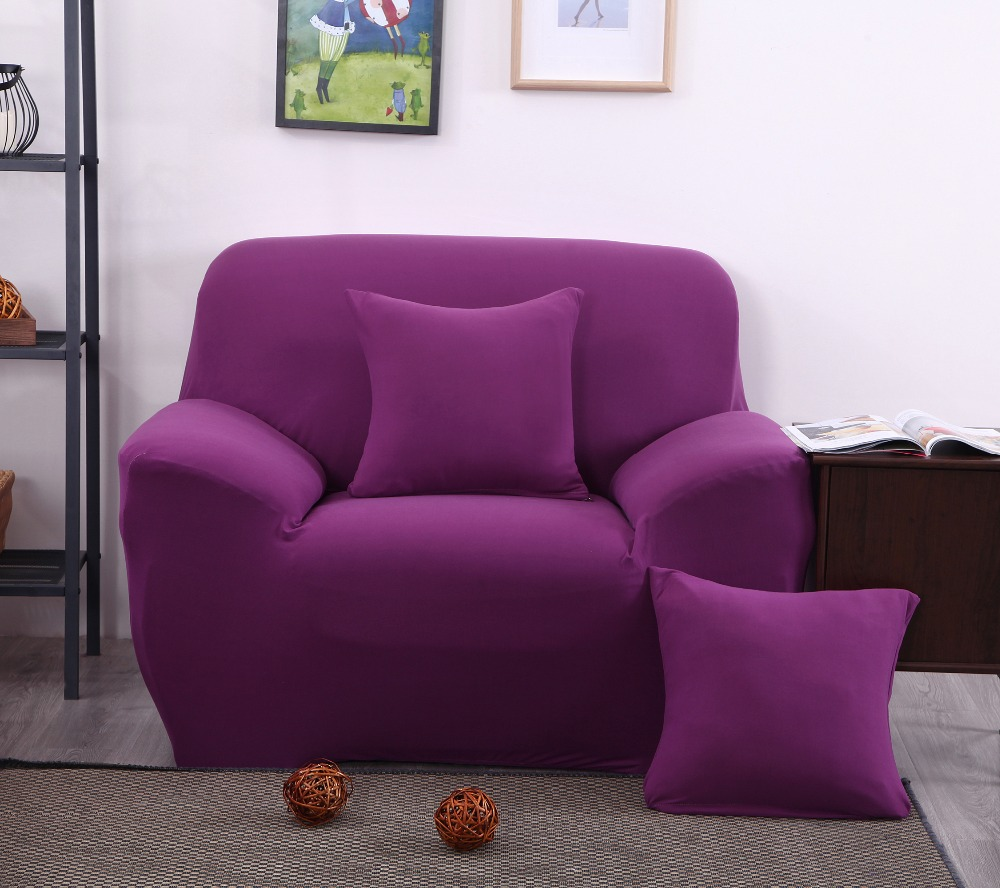 New Arrival Colorful Spandex Sofa <font><b>Cover</b></font> Furniture Protector Slipcovers Sofa tight wrap elastic sofa <font><b>Cover</b></font>/towel Four Styles