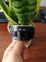 PK FX Lens Adapter For Pentax K PK Mount Lens To For Fujifilm X Pro1 X