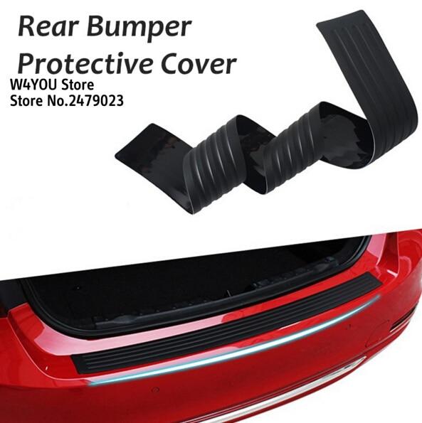Car rubber rear guard bumper protector trim cover car sticker plate for honda civic cr