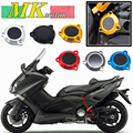 Motorcycle Accessories CNC Aluminum Frame Hole Cover Front Drive Shaft Cover For Yamaha T-max 530 TMax530