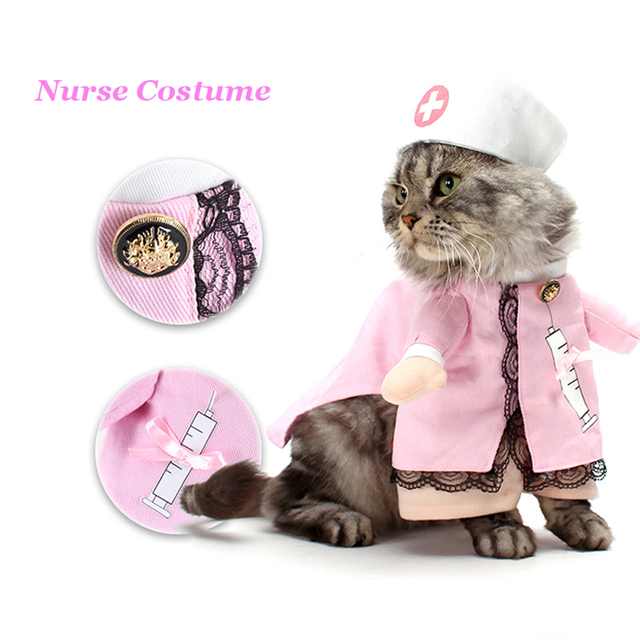 Dogs Doctor and Nurses Novelty Uniforms