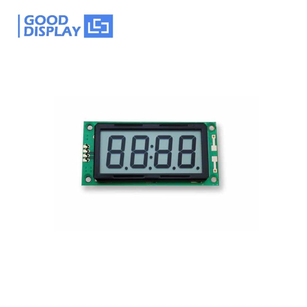 4-digit 7-Segment LCD Module