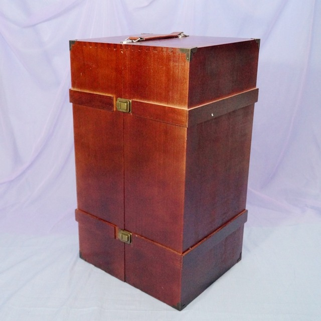 BJD Mini Furniture Wood Wardrobe Clothing Shows Box For 1/3 24 1