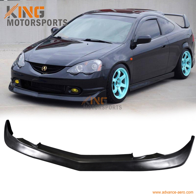 For Acura RSX Mugen Style Front Bumper Lip Spoiler - 2002 acura rsx front bumper