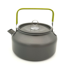 Outdoor Camping Coffee Tea Kettle 1.2L Ultralight Camping Picnic Equipment Cookware Pot цена