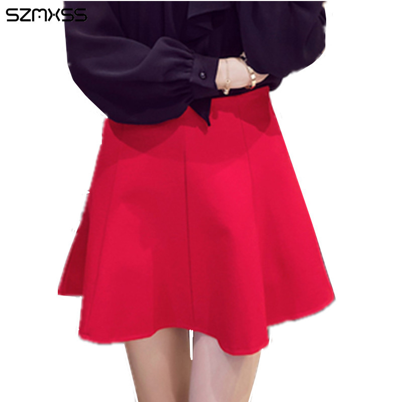 Online Get Cheap Red Pleated Mini Skirt -Aliexpress.com | Alibaba ...