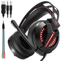 ONIKUMA M180 Gaming Headset Over Ear Stereo Bass Gaming Headphone With Noise Isolation Microphone For PS4