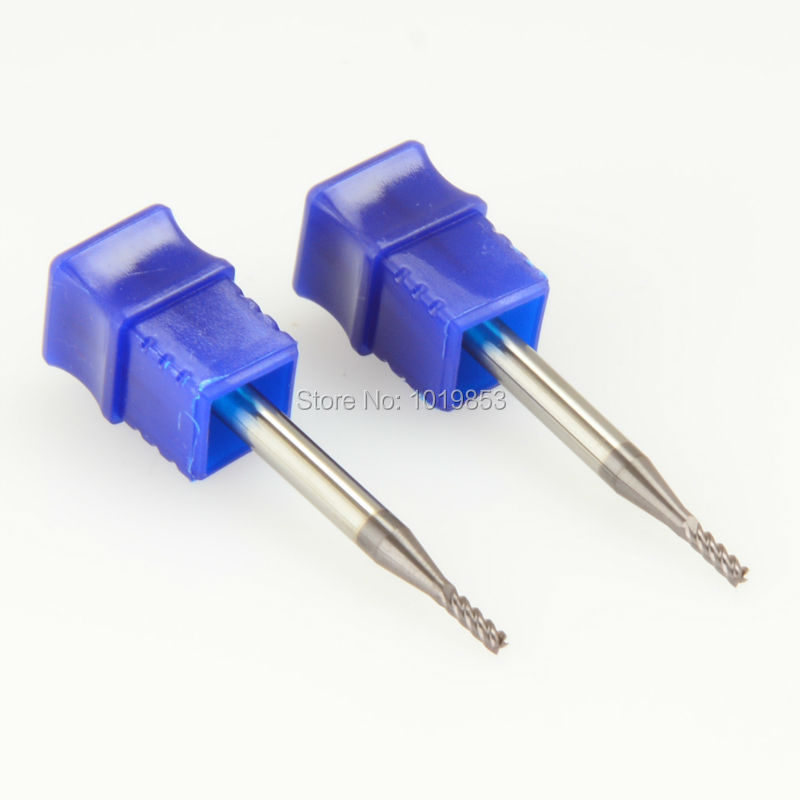CGS-250 2X4X50L HRC50 SOLID Tungsten Carbide End Mill Fraise Carbure For Stainless Steel SUS304 Or 316