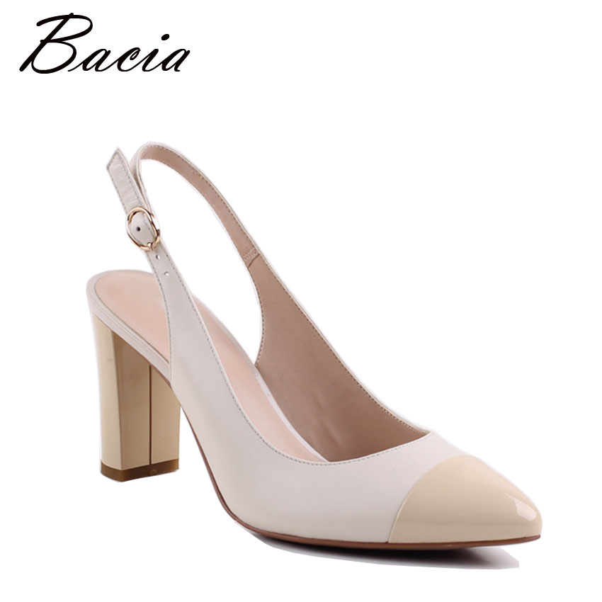Bacia भेड़ त्वचा सैंडल 2017 नई - महिलाओं के जूते
