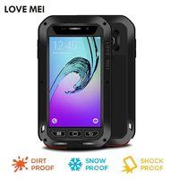 Love Mei Shockproof Life Waterproof Metal Aluminum Case For Samsung Galaxy A3 2016 A310 Cover Phone