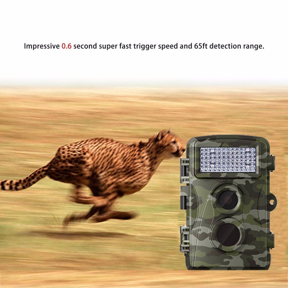 LESHP H3 Wildlife Hunting Detection Trail Camera  IP56 Waterproof Infrared Night Vision Surveillance Scouting Video RecorderLESHP H3 Wildlife Hunting Detection Trail Camera  IP56 Waterproof Infrared Night Vision Surveillance Scouting Video Recorder