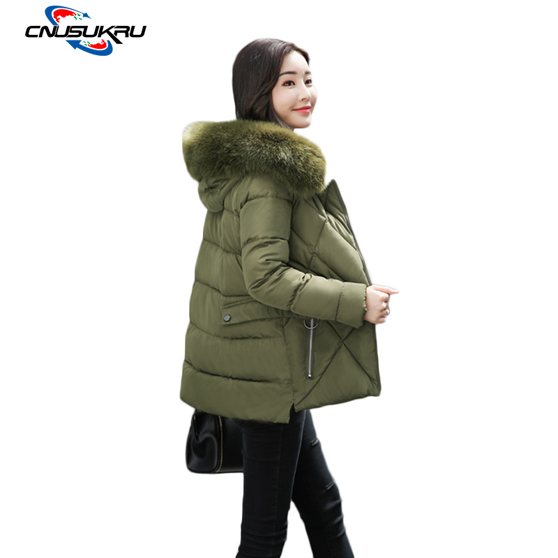 Ukraine Real Full Zipper Slim 2017 New Winter Jacket Women Fashion Cotton-padded Hooded Parka Female Wadded Outwear Coat Womens new winter jacket women 2017 fashion slim medium long cotton padded hooded parka female wadded jacket outwear winter coat cm1728