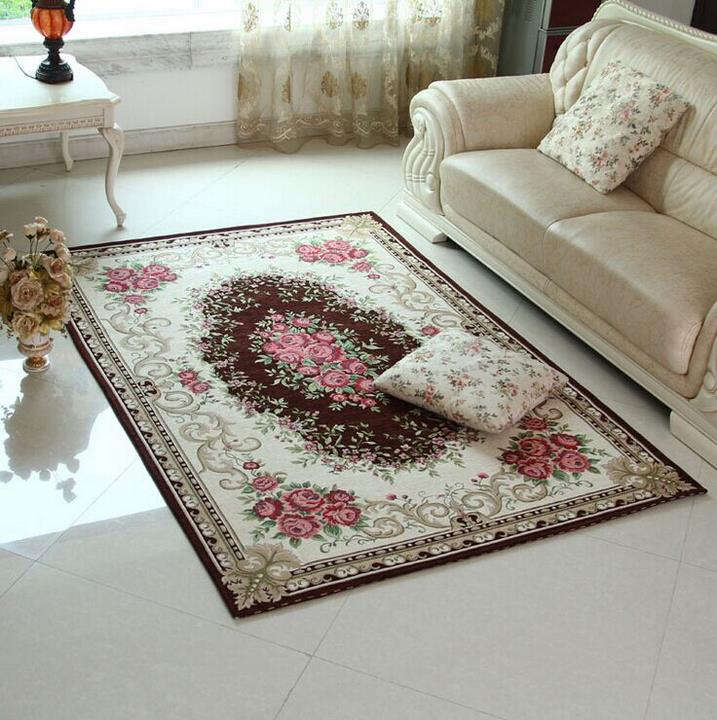 Nordic Pastoral Style Big Carpet For Living Room Soft Bedroom Rugs And Carpets Coffee Table Area
