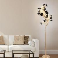 1.68M G9 LED wedding floor light lampara post modern living room art deco floor lamp Home party Christmas tree LED Standing Lamp