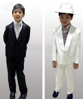 e0759ddd604 Индивидуальный заказ детский дизайнерский Свадебный костюм для  мальчика Торжественная Одежда для мальчиков костюмы для мальчиков Наряд