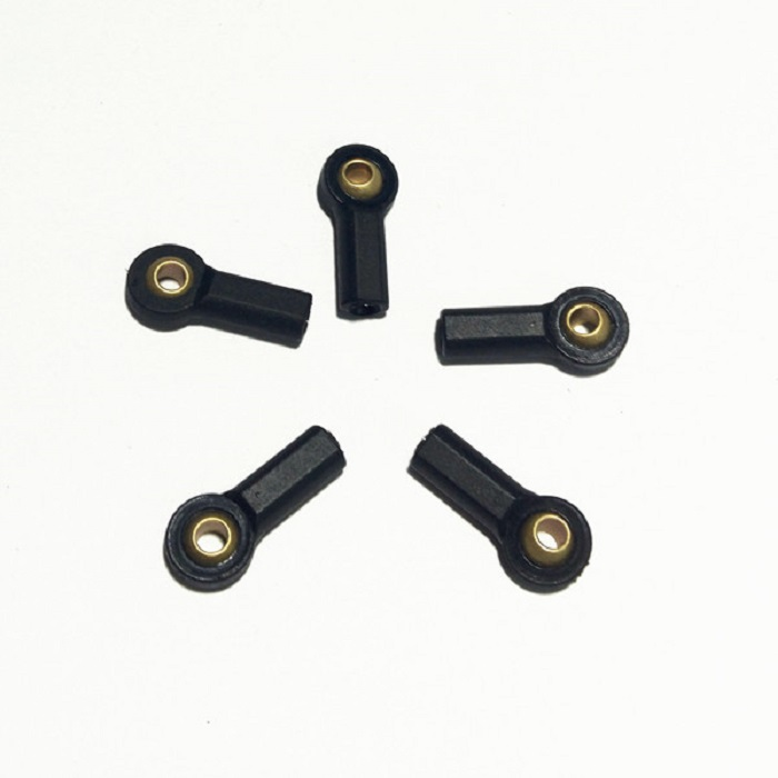 10PCS Plastic CNC M3 Tie Rod End Ball Joint Head Holder 20MM Buckle Tie Rods for 1/10 Car Boat Airplane Models