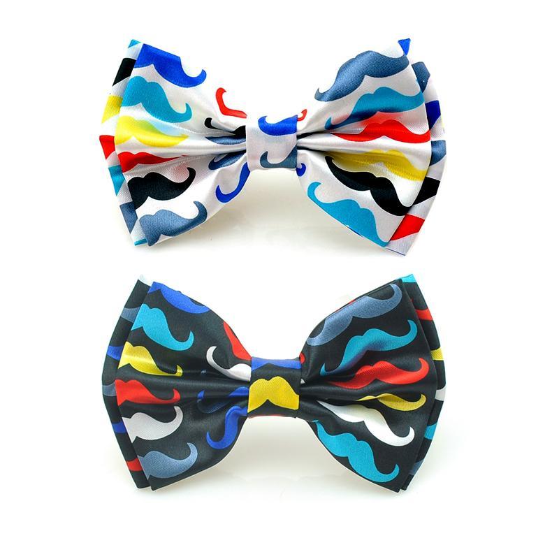 ④Envío libre-nueva manera de la llegada Rainbow bigote patrón de ...