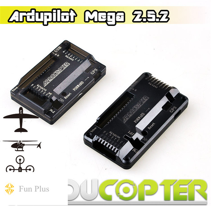 ARDUPILOT MEGA APM2.5.2 2.52 APM2.6 Vertical Pin Flight Controller with M8N 6M 6H GPS for FPV Multicopter Upgraded Version
