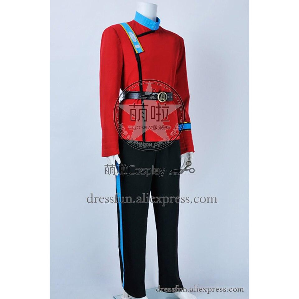 Star Trek Wrath Of Khan Cosplay Chekov Mccoy Uhura Costume New