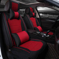 New Car Seat Cover Cushion Senior Flax Silk Sports Seat Covers Car Styling Covers For Nissan