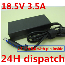 18.5V 3.5A Ac Power Supply Adapter For HP CQ35 G61 G70 DV6 DV7 DV4 ProBook 4310s 4410s 4415s 4510s 4515s Mini 2140 5101 5102 585219 001 for hp probook 4415s 4515s 4416s motherboard 4510s notebook for hp probook 4415s notebook for amd free shipping