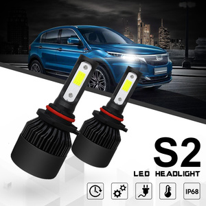 Image 3 - COOLFOX Super Car Headlights Turbo Luces Led H7 9005 9006 hb4 H1 H8 H11 H4 LED Canbus Zenon Bulbs Auto Lamp 12v 72w 36w 8000Lm