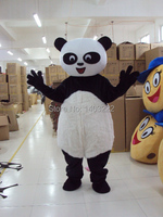 Lovely Plush Panda Mascot Costume Panda Bear Mascot Costume Fancy Dress Adult Size