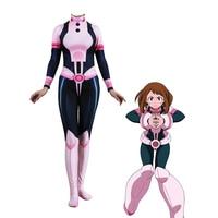 Anime 3D Women My Hero Academia Boku no Hero Academia OCHACO URARAKA Cosplay Costume Zentai Bodysuit Suit Jumpsuits