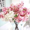 2Pcs/lot Tokyo Sakura Cherry Blossom artificial fake silk flower living room home garden party wedding table decoration supply